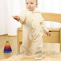 Комбинезон для детей Engel из шерсти мериноса с отворотами