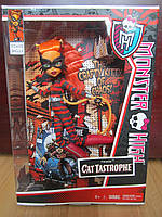 Monster High Power Ghouls Toralei Doll Торалей Страйп Супергерои
