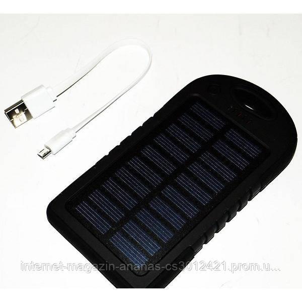Power Bank зарядка солнечная батарея 20000mAh