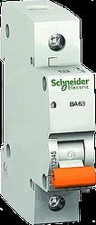Автоматический выключатель BA63 1P 6А Schneider Electric