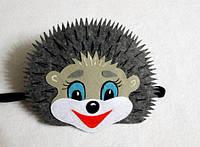 Карнавальные маски наголовники, фетр, детские от 1 до 3+ лет