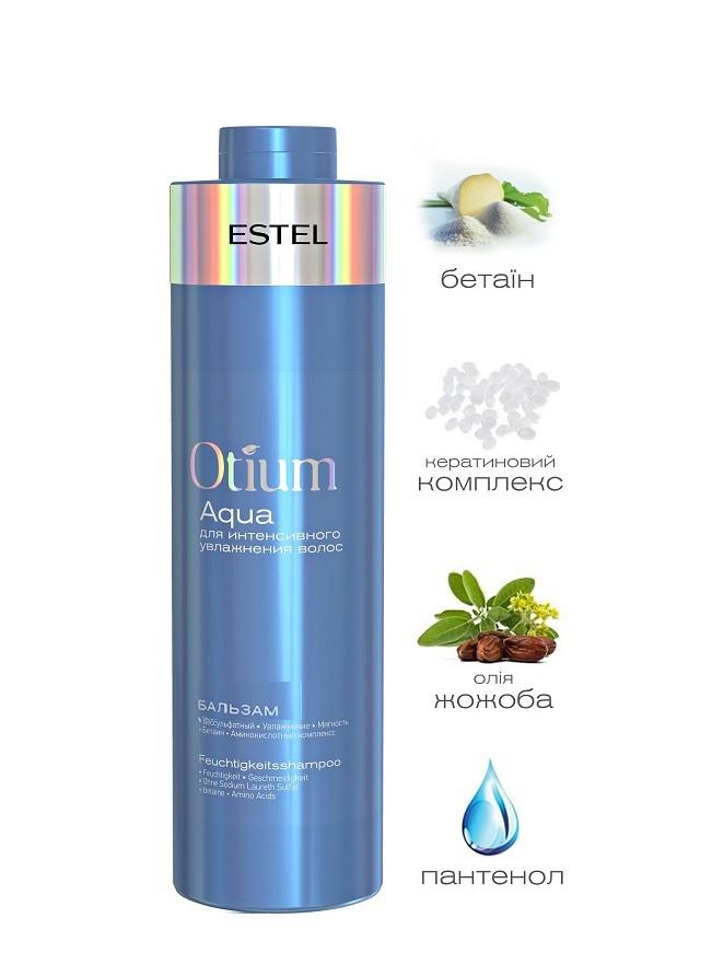 Бальзам для зволоження волосся, 1000 млEstel Otium Aqua