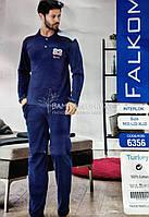 "Пижама мужская теплая ""Флис"" Falkom №6356"