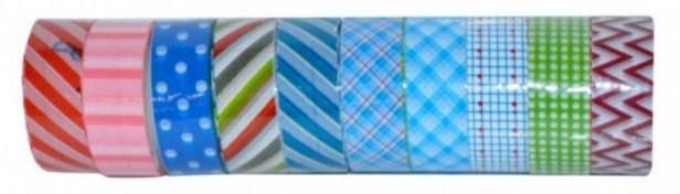 Стрічка клейка декоративна ТК-75145  2м.(ціна за 10шт)(200)(ТІК), фото 2