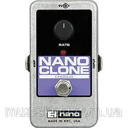 Гитарная педаль эффектов хорус Electro Harmonix NANO CLONE
