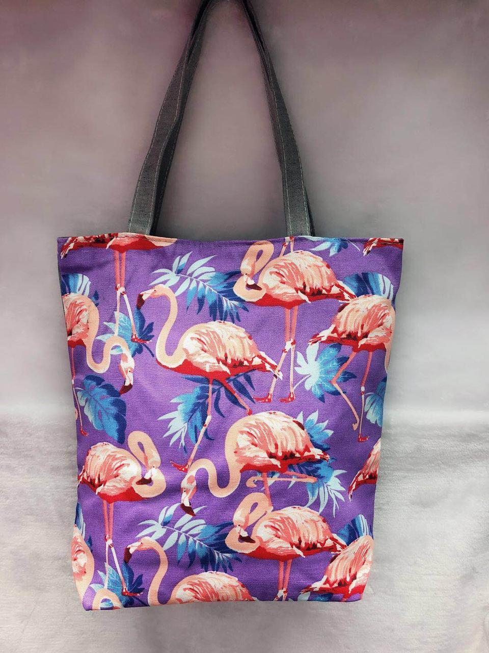 7688f7b4b717 Пляжная сумка Фламинго представлен в магазине «BAGSTYLE»