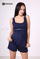 Комплект домашний для беременных и кормящих ZNANA Lace арт. 037-38, фото 1