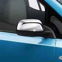 Хром накладки на зеркала для Nissan Leaf (10-17)
