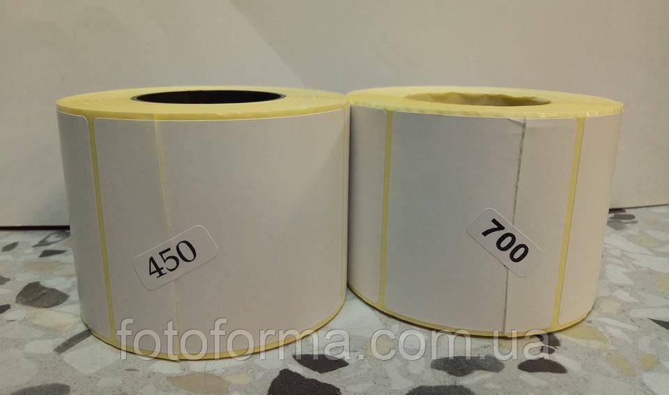 Термоэтикетка  в рулоне Тор от 58х60мм 450шт.