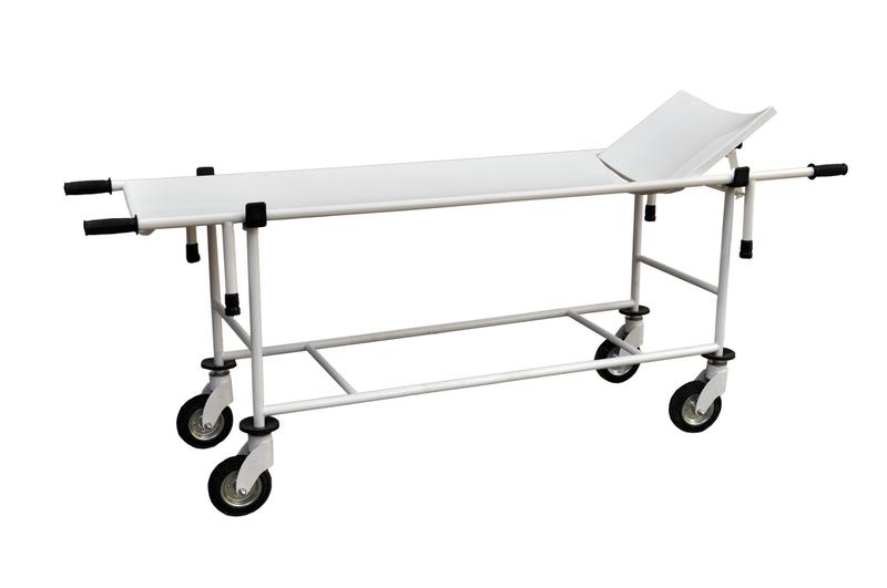 Тележка для перевозки больных со съемными носилками тбс-150 медицинская Завет