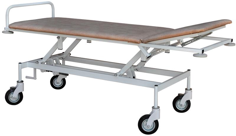 Тележка для транспортировки пациента с регулировкой высоты тпбр медицинская Завет
