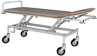 Тележка медицинская, каталка медицинская для транспортировки пациента с регулировкой высоты тпбр Завет