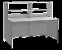 Стол лабораторный с верхней надстройкой сл-001.02 медицинский Завет