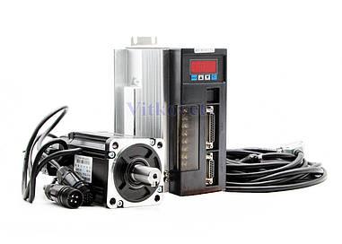 Сервомотор, серводрайвер 80ST-M02430, 750W