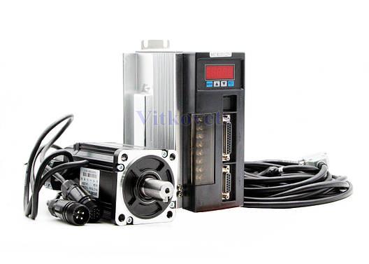 Сервомотор, серводрайвер 80ST-M02430, 750W, фото 2