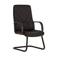 Кресло Manager KD CF каркас black экокожа Есо-30 (Новый Стиль ТМ)