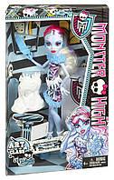Кукла Monster High Art Class Abbey Bominable Эбби Боминейбл Арт Класс
