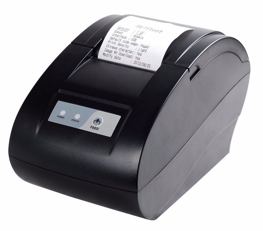 Принтер печати чеков XP-58IIN на термобумаге