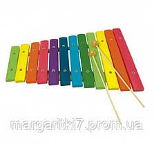 Ксилофон Bino арт. 86554 12-ти тональный