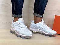 Кроссовки мужские в стиле Nike Air VaporMax Plus код товара 4S-1090. Белые