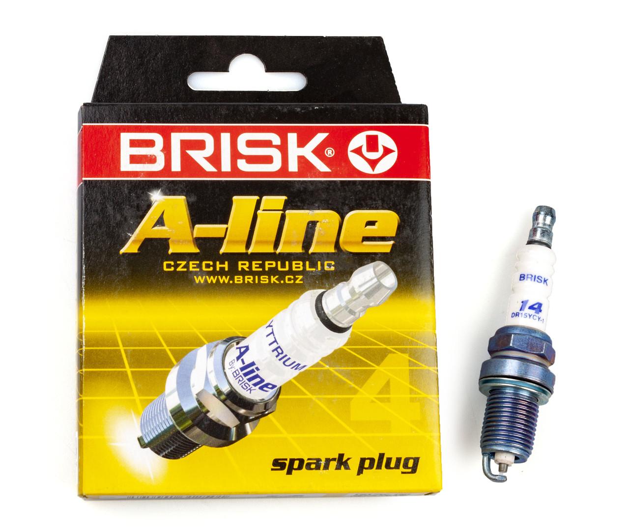 Свічка запалювання BRISK BR DR15YCY.4K (A-28)
