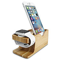 Подставка Spigen для Apple Watch+iPhone Stand S370 (000ST20295)