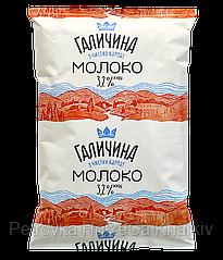 "Молоко ТМ ""Галичина"" 900мл 3,2% (1ящ/15шт)"