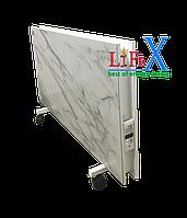Напольный керамический обогреватель LIFEX ПКП1200 (белый мрамор)