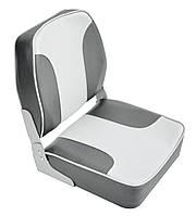 Кресло светло-серое/угольно-серое с низкой спинкой 1001204, фото 1