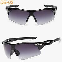 Солнцезащитные спортивные очки Robesbon (велоочки) черные с переходом