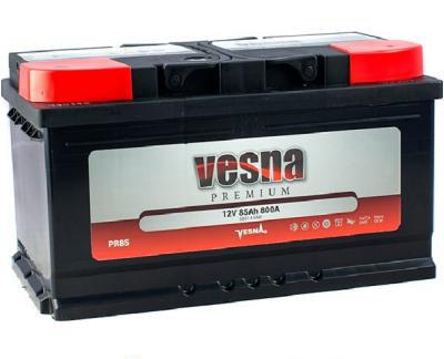 Аккумулятор автомобильный 6СТ-85Ач. 800A. VESNA