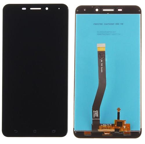 Дисплей для Asus ZenFone 3 Laser (ZC551KL) с тачскрином черный Оригинал