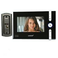 Домофон c цветным экраном Luxury V - 715 R0 Black 7» дюймов (Возможность записи!)