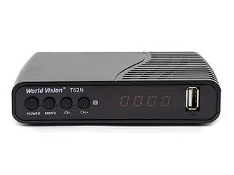 Цифровой эфирный ресивер World Vision T62N Dolby Digital DVB-T2