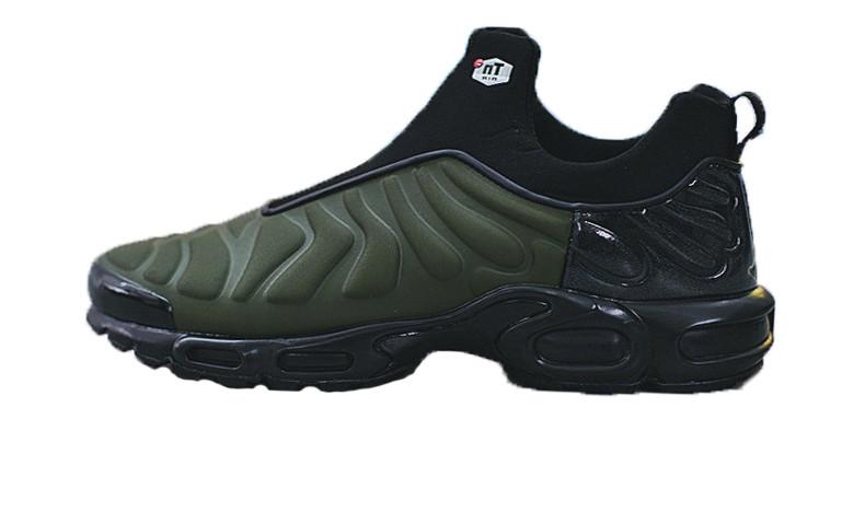 Мужские Кроссовки Nike Air Max Plus Slip SP TN Black Green — в ... 0efcc9d9799