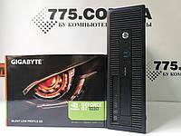 Компьютер HP ProDesk 600 G1 (SFF), Intel Core i3-4130 3.4GHz, RAM 8ГБ, SSD 120ГБ, GeForce GT 1030 2ГБ