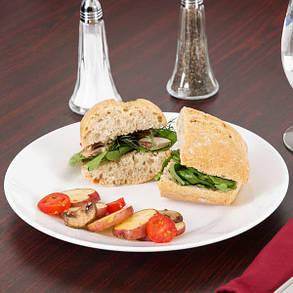 Тарелка обеденная белая ARCOROC RESTAURANT 23,5 см 22522, фото 2