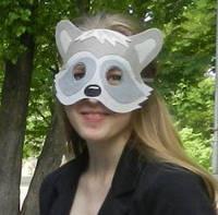 Карнавальные маски, фетр, от 4-х до 18+ лет