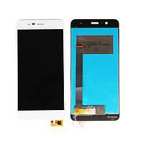 """Дисплей для Asus ZenFone 3 Max 5.2"""" (ZC520TL) с тачскрином белый Оригинал"""