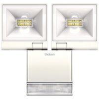 Светодиодный светильник Theben theLeda S20 W WH, с датчиком 2x10 Вт, 3000 К, теплый, th 1020933