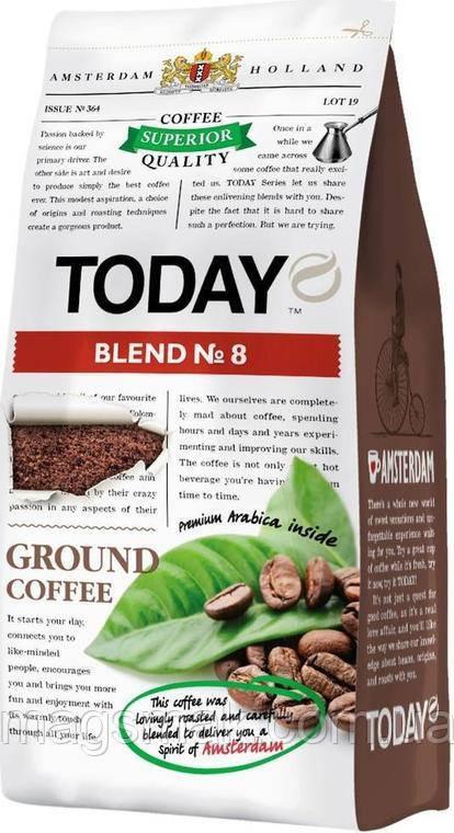 Кофе Today Blend №8 200 г молотый