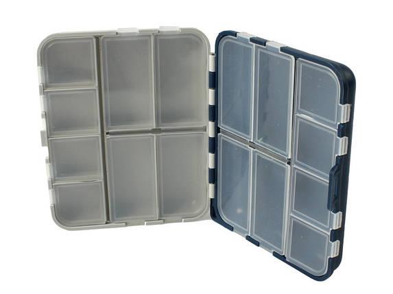 Коробка Aquatech двойная 2416 (16 ячеек с крышками), фото 2