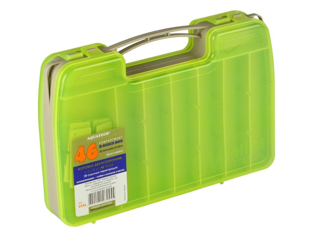 Коробка Aquatech 2-х сторонняя 2546 (14-46 ячеек)