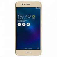 """Дисплей для Asus ZenFone 3 Max 5.2"""" (ZC520TL) с тачскрином и рамкой золотистый, Sand Gold Оригинал"""
