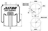 Пневморессора с метал. пистоном (RVI PREMIUM, MAGNUM/00-, шпилька-воздух )