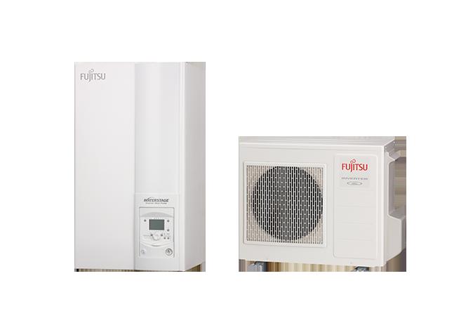 Тепловий насос Fujitsu MONOBLOC TYPE серії Compact WSYP100DG6 / WPYA050LG