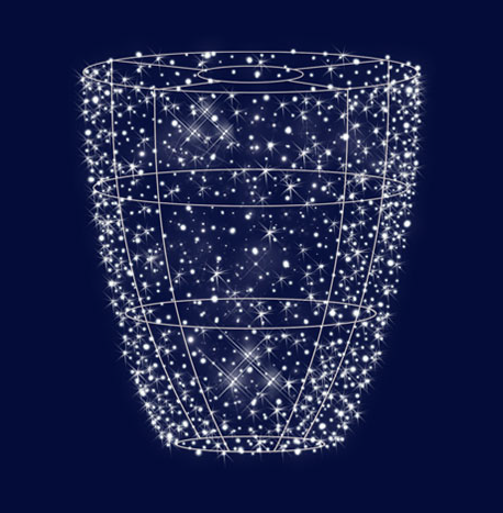 """3D светодиодная конструкция """"Чаша под дерево"""" 2.0*1.8, 3*2.5 , фото 2"""