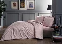 Семейное постельное белье Сатин TAC FABIAN V52 PEMBE