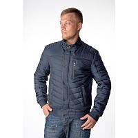 Демисезонная мужская поясная куртка с замшевой отделкой. Размеры  46-64 69db242c558