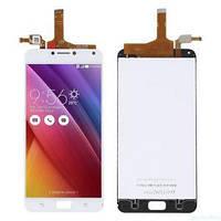 "Дисплей для Asus ZenFone 4 Max 5.5"" (ZC554KL)/4 Max Pro/4 Max Plus с тачскрином белый Оригинал"